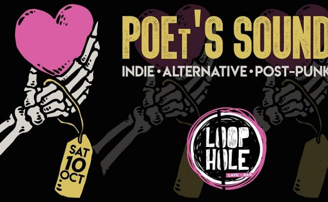 Make No Bones About it, it's a POEt'S SOUND party! @ LoopHole cafe bar | Χαλάνδρι